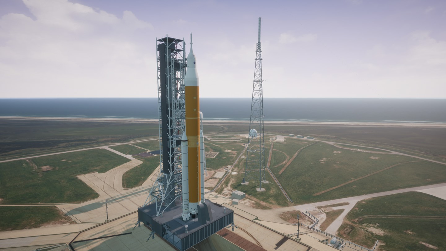 The NASA SLS Virtual Tour