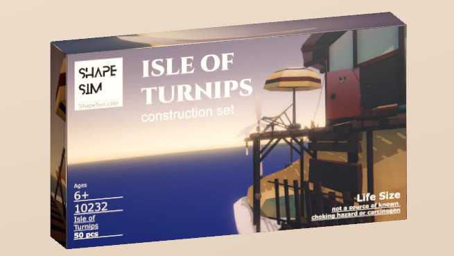 ShapeSim: Isle of Turnips construction set