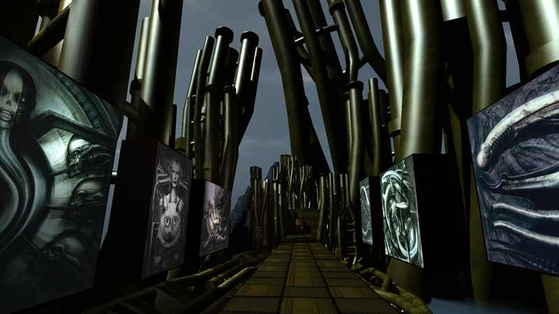 H.R. Giger Virtual Gallery