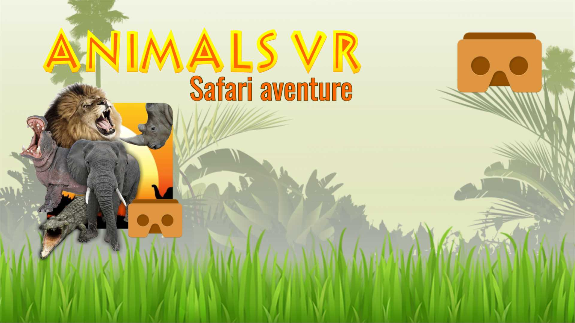Animals safari VR