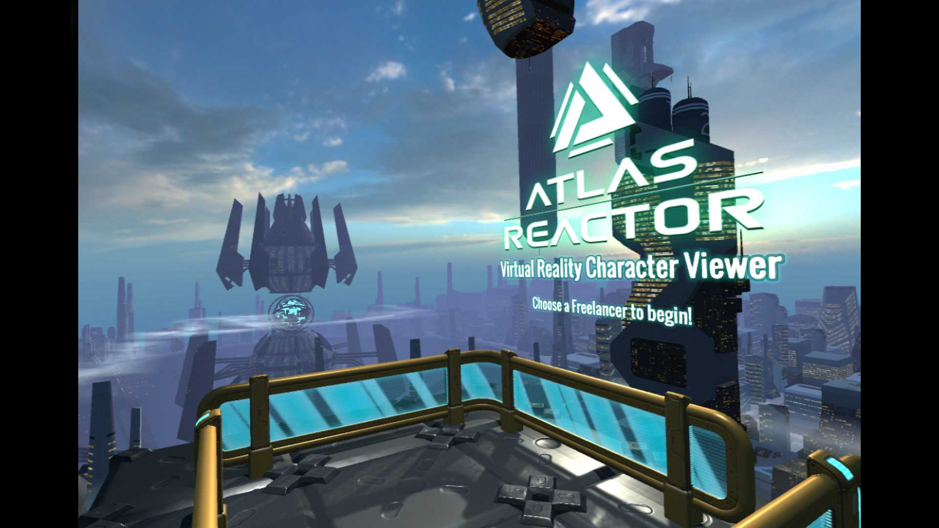 Atlas Reactor VR Character Viewer