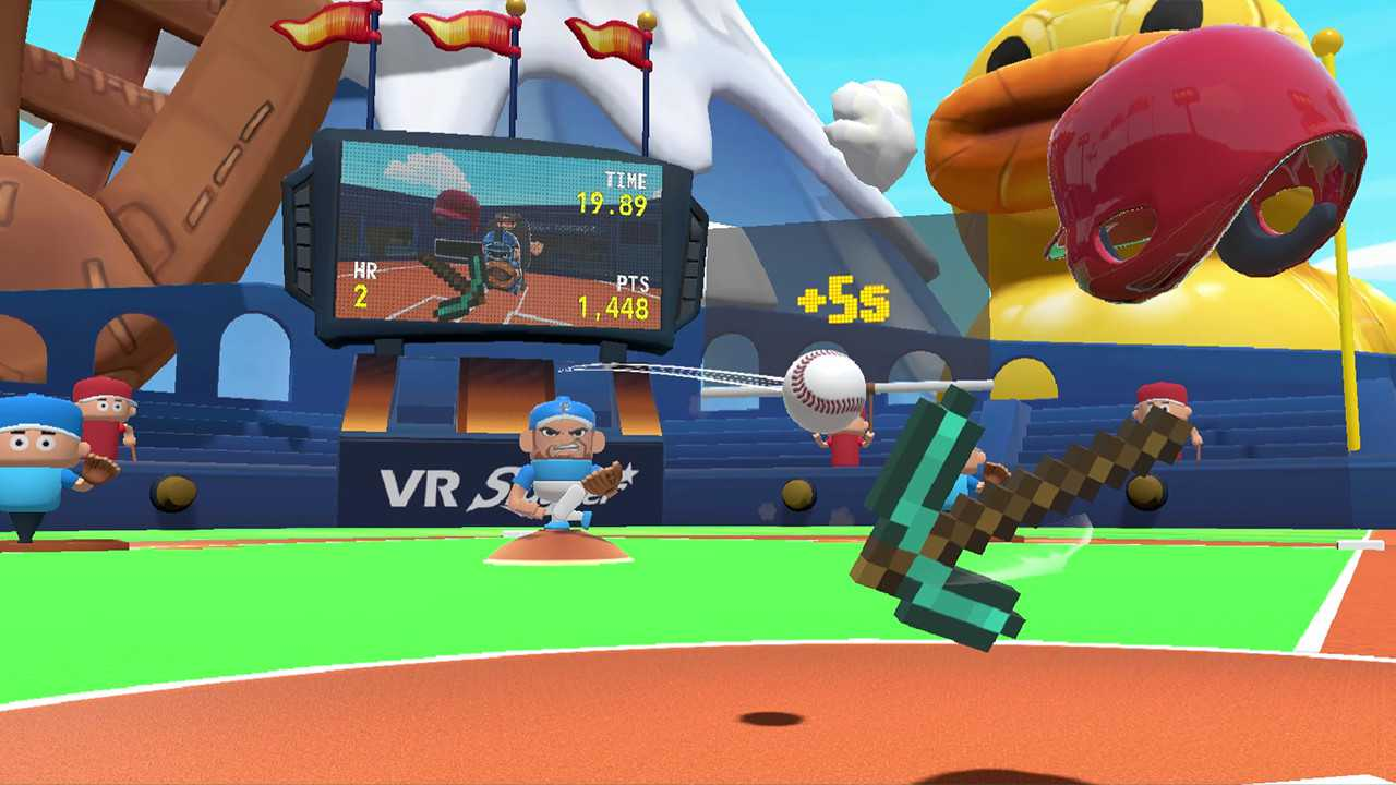 VR Slugger: The Toy Baseball Field