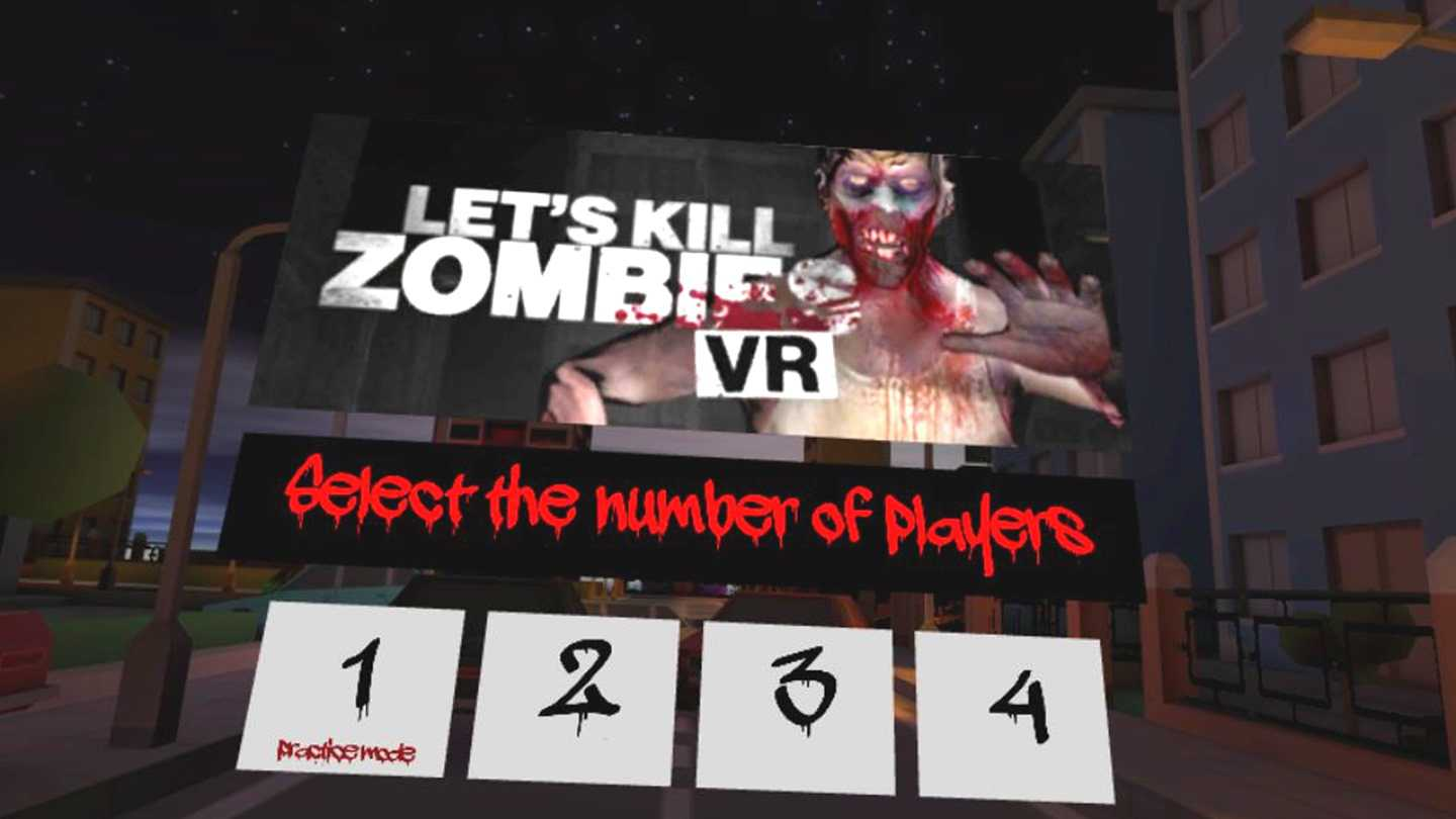 Let's Kill Zombies VR