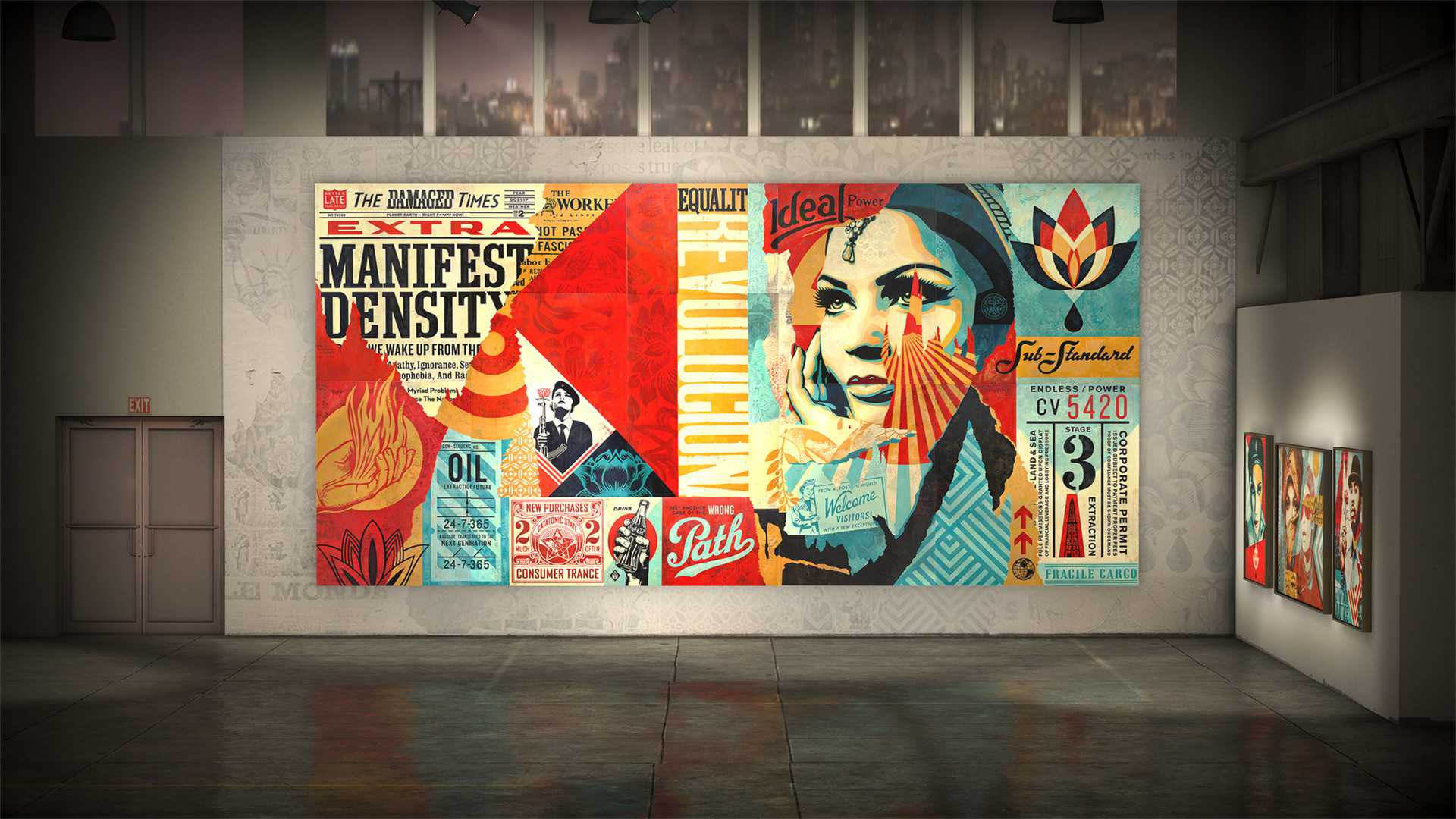Shepard Fairey VR - DAMAGED