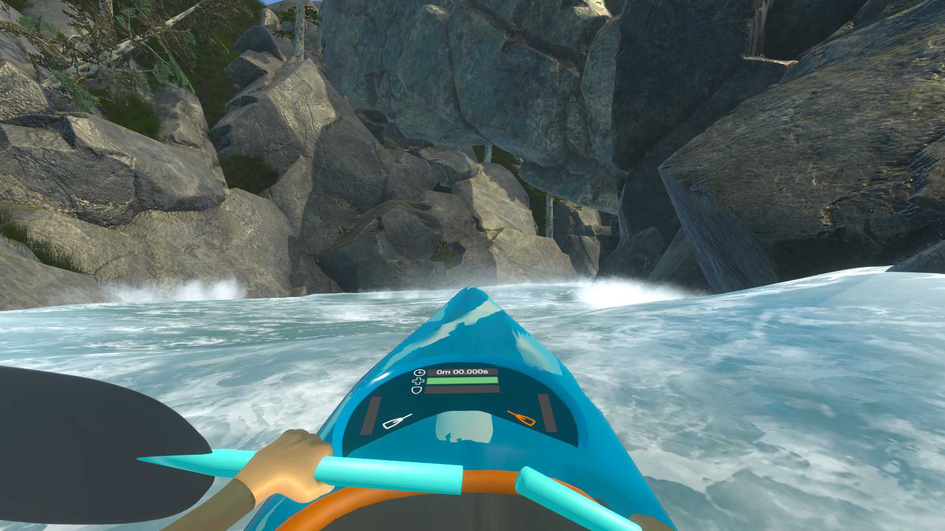 Downstream Vr Whitewater Kayaking Pc
