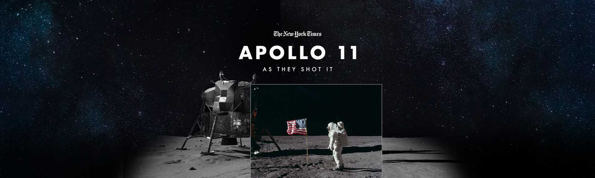 The New York Times: Apollo 11: As They Shot It