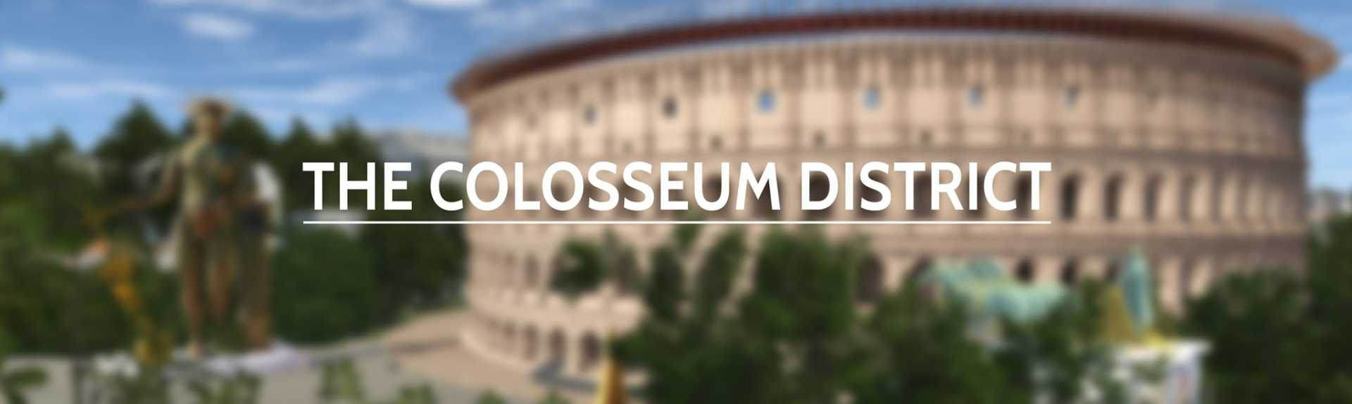 Rome Reborn: Colosseum District