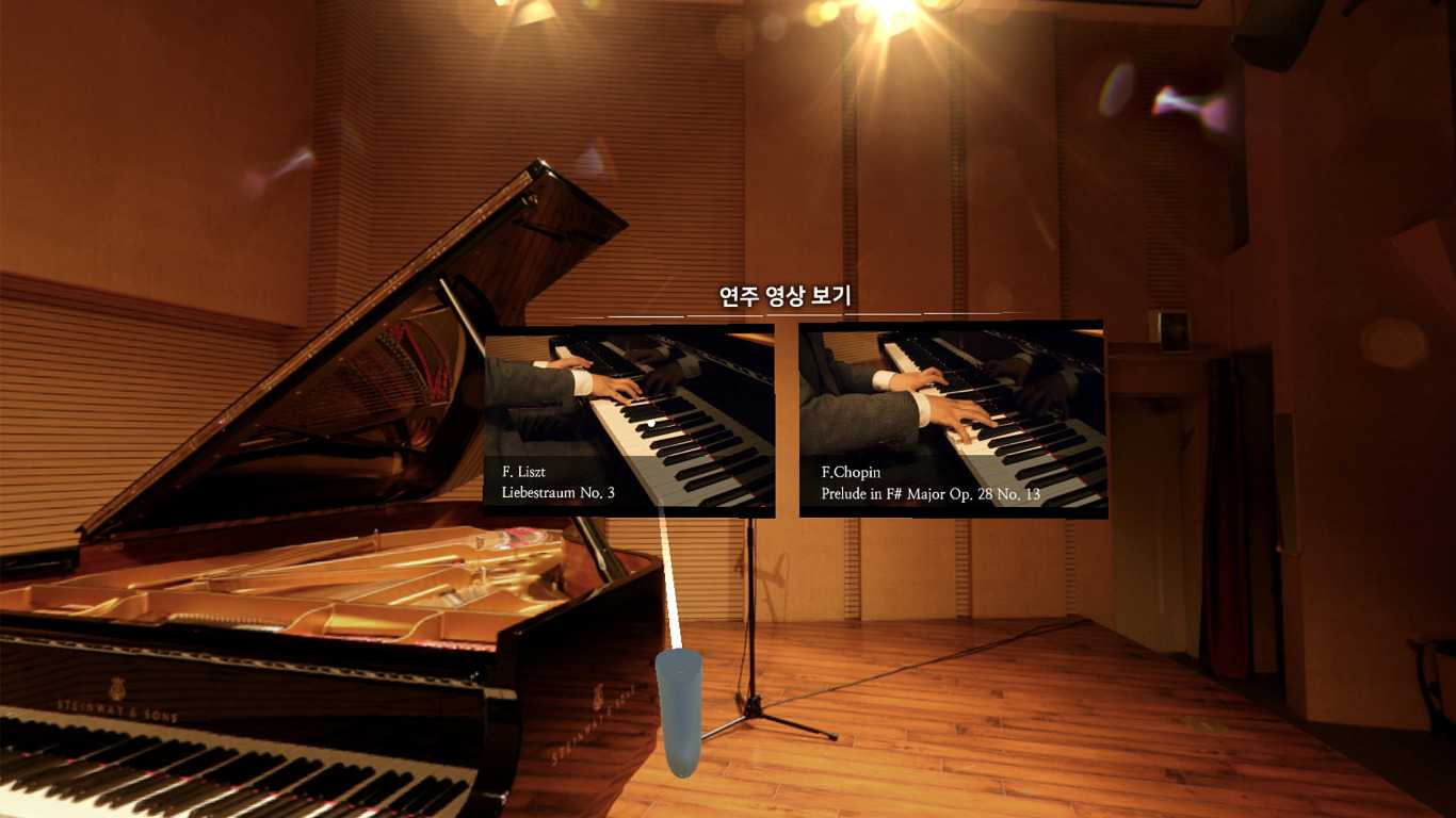 [VR Classical Music] Pianist Won Jae Yeon