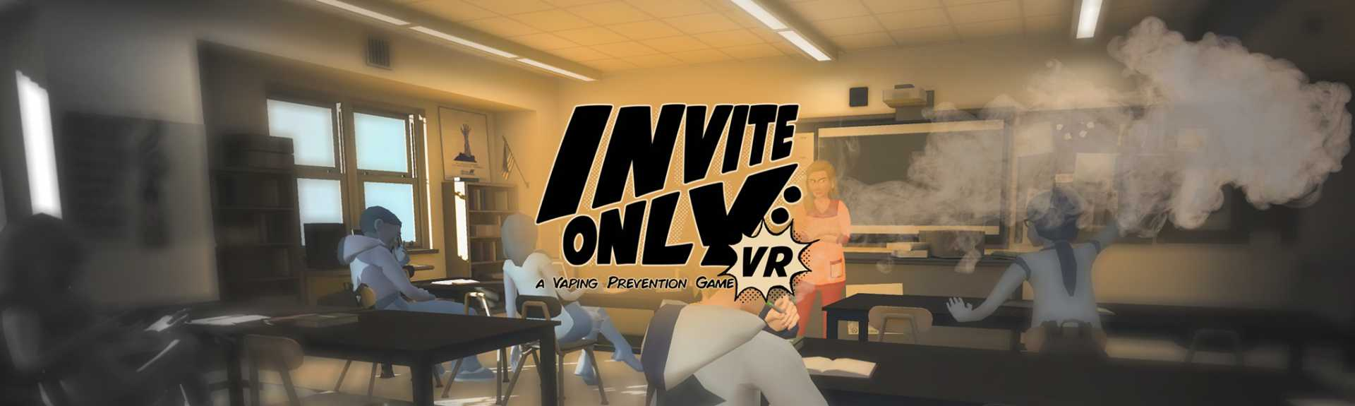 Invite Only VR: A Vaping Prevention Game