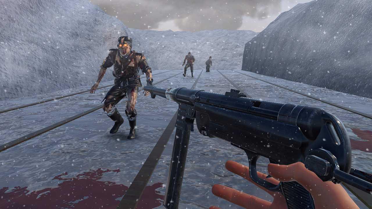 World War 2 Winter Gun Range VR Simulator (PC)