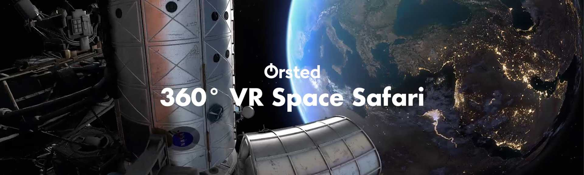 Orsted 360° VR Space Safari