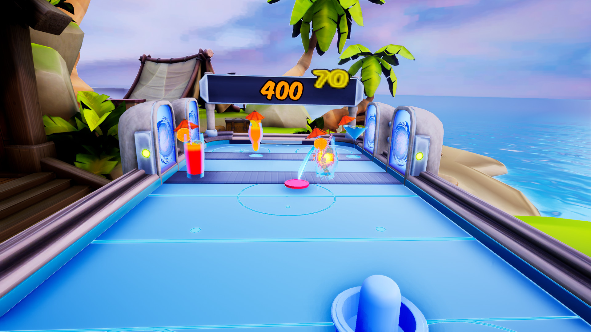 Tropical Air Hockey