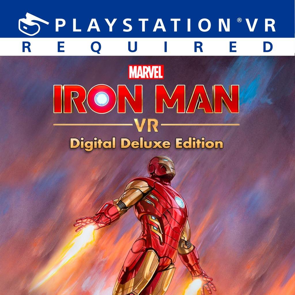 Edición Digital Deluxe de Marvel's Iron Man VR