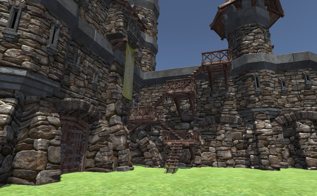 VR Time Machine Travelling in history: Medieval Castle, Fort, and Village Life in 1071-1453 Europe