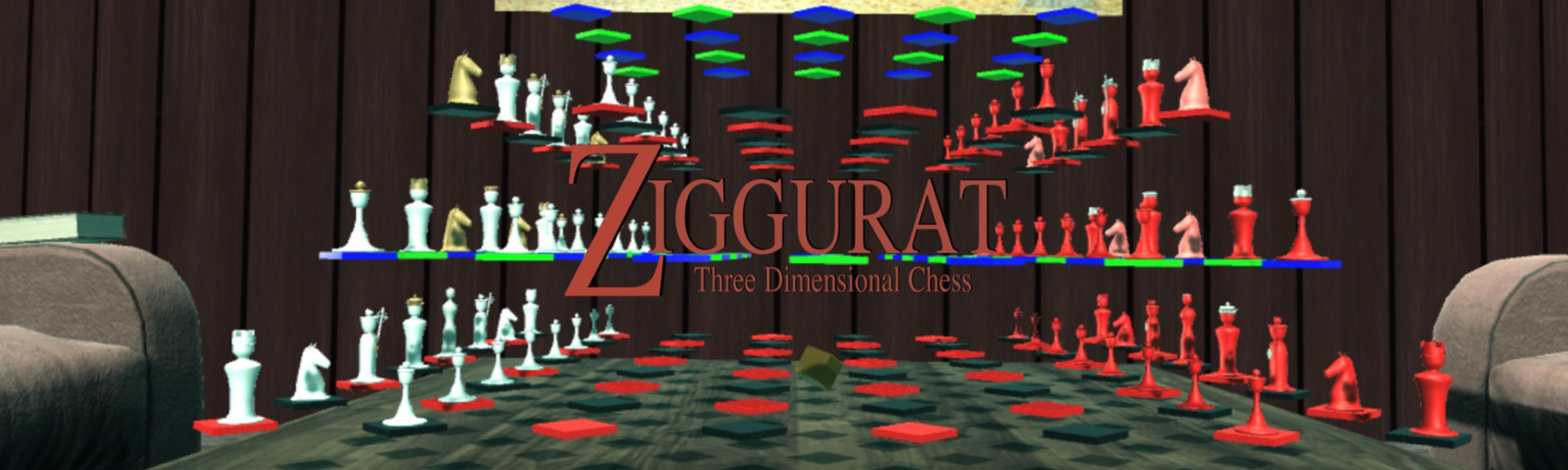 Ziggurat Three Dimensional Chess
