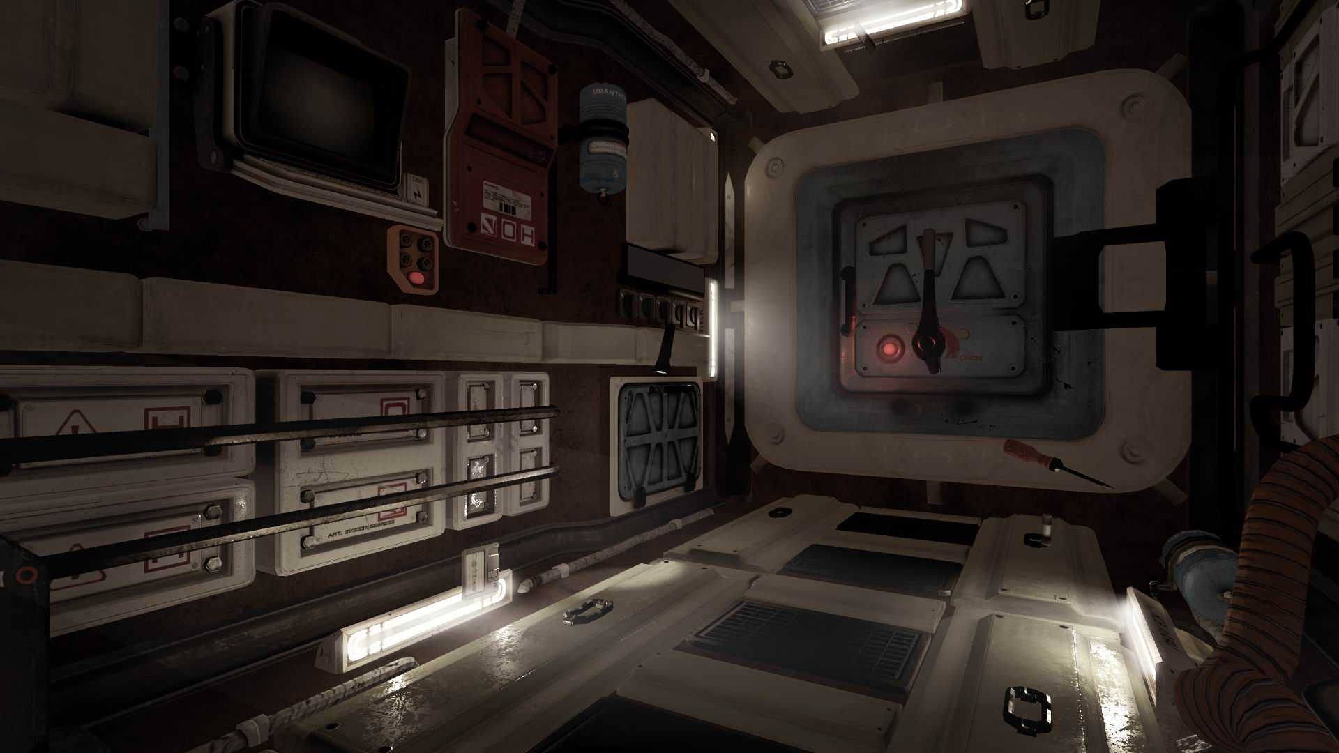 VR Escape the space station
