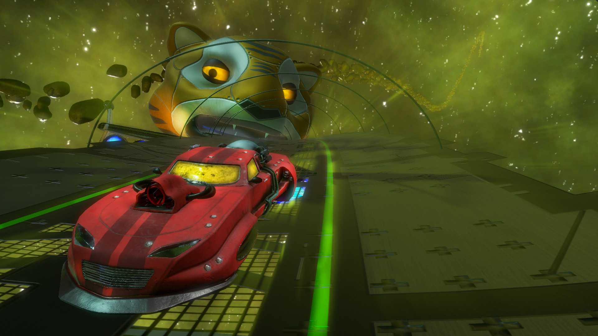 Space Ribbon Panther Jet Car - Early Access Pack
