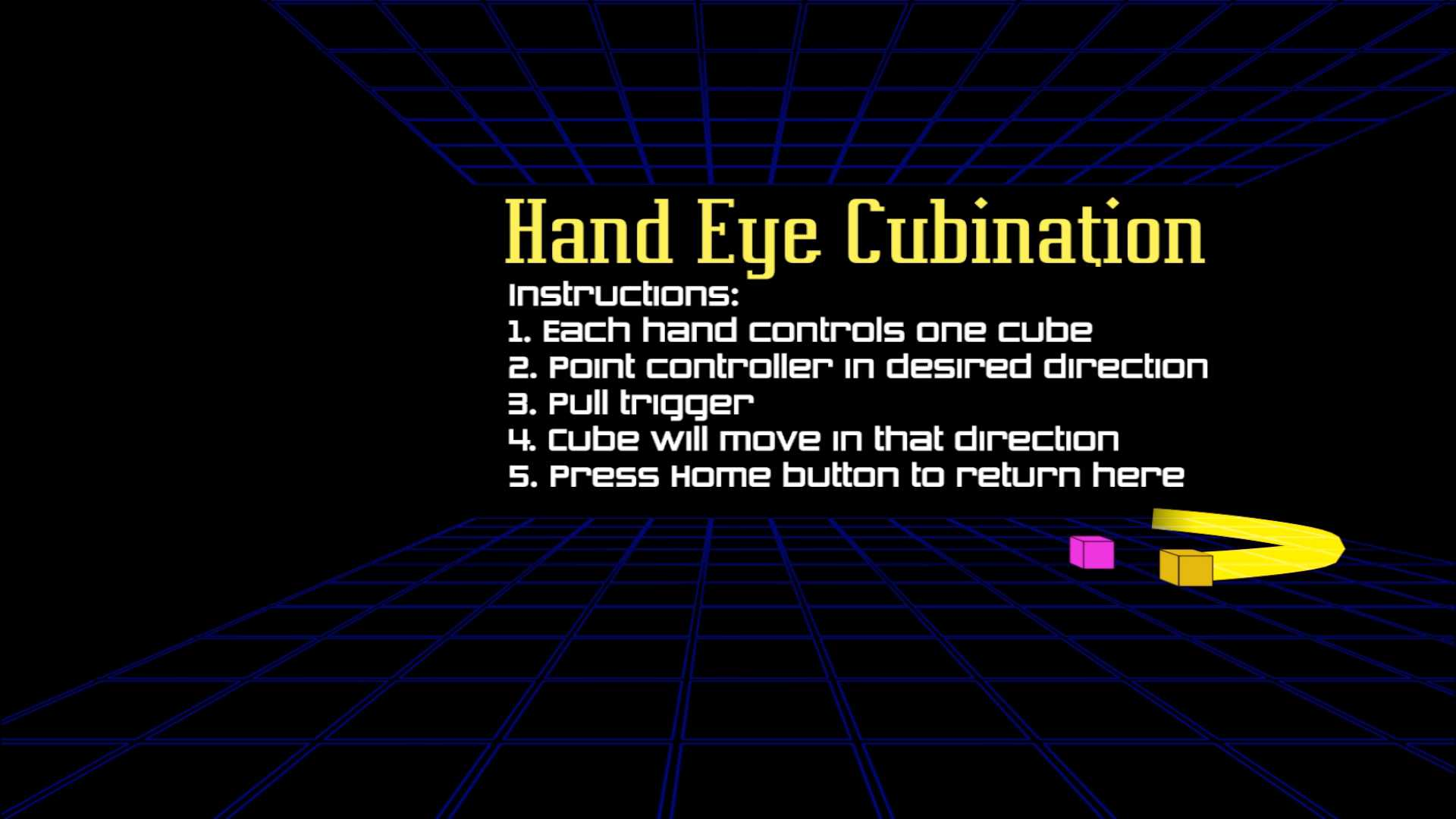 Hand Eye Cubination
