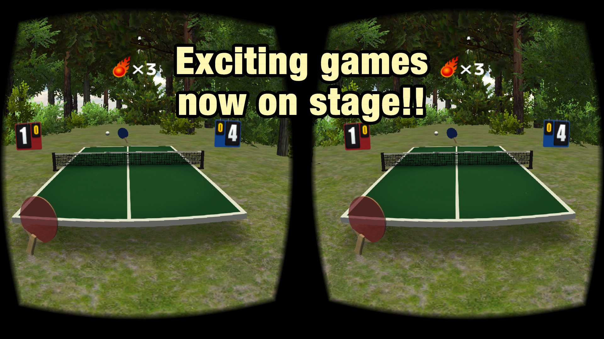 VR Swing Table Tennis Oculus