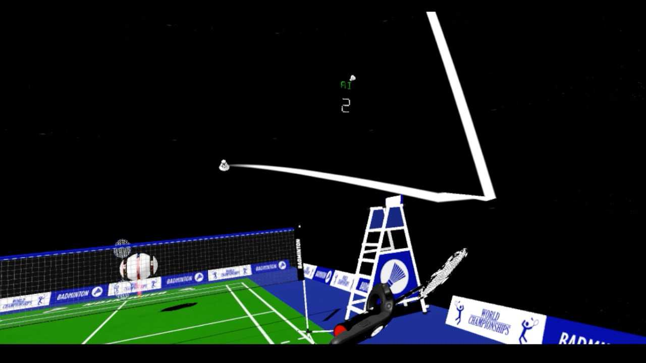 Space Badminton VR