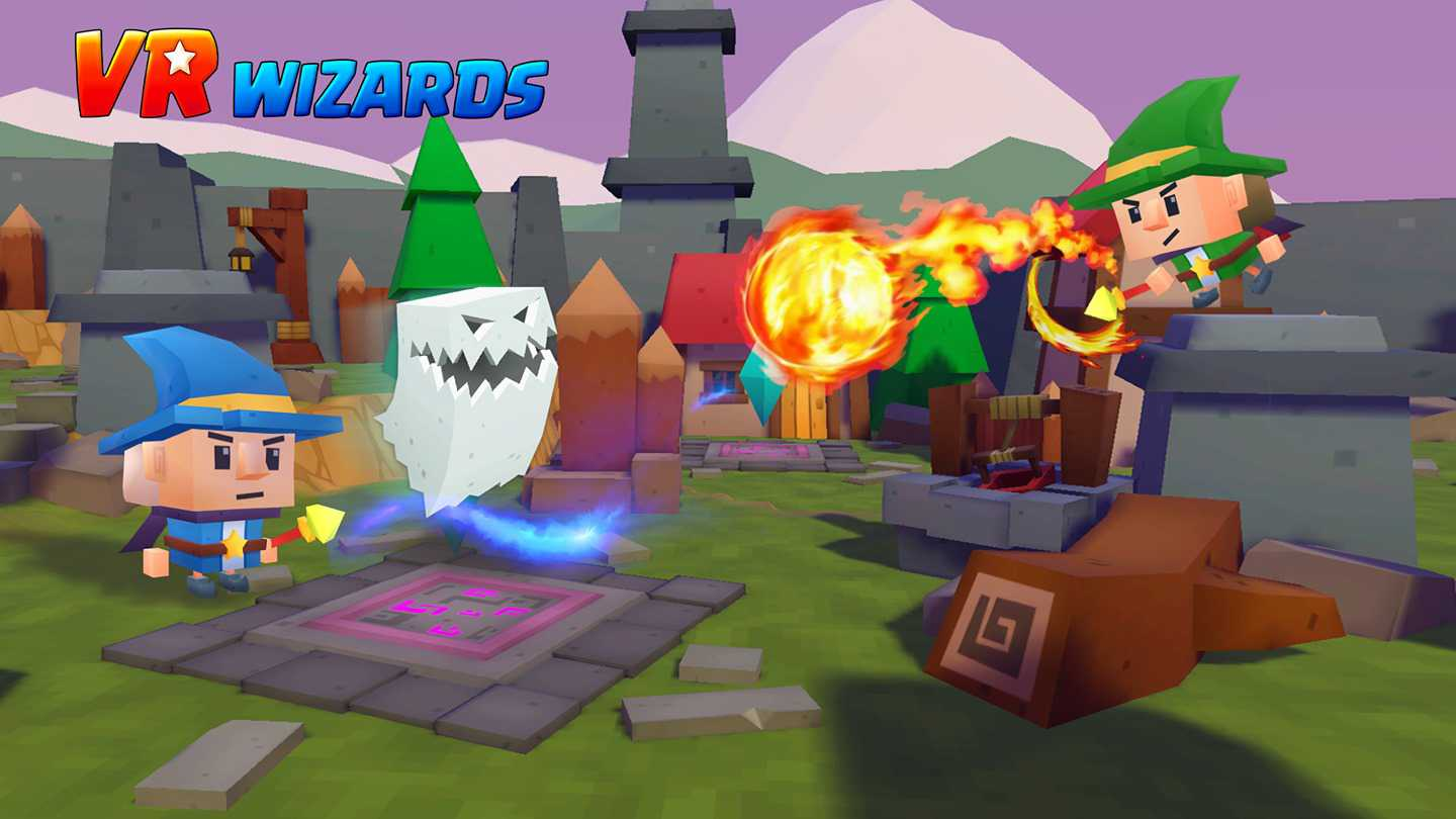 VR Wizards - Strategy PvP Game