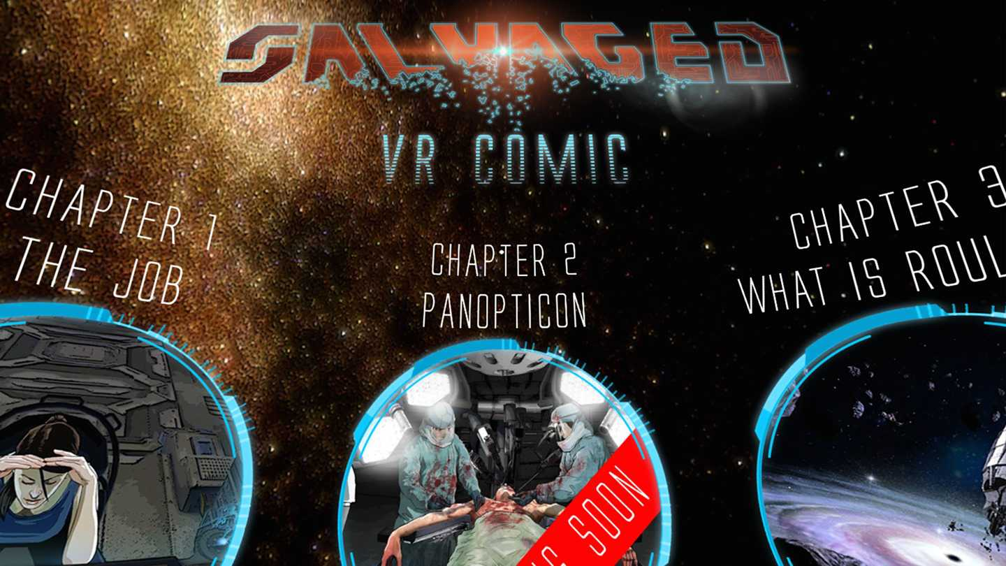 Salvaged: VR Comic