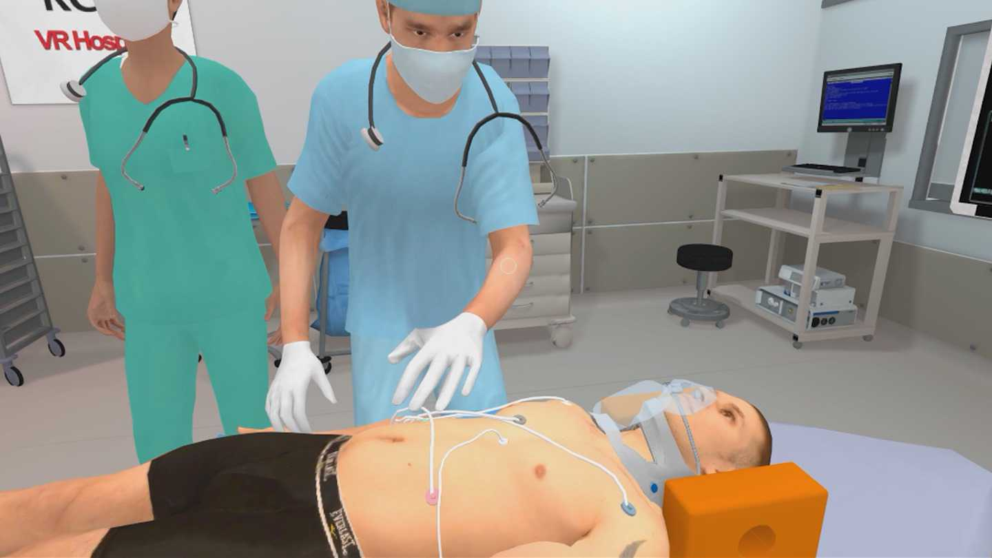 RCSI Medical Training Sim
