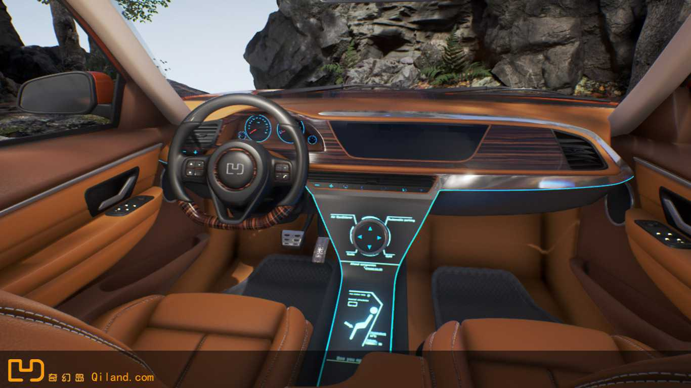 Driving  A Own Custom Car  in the VR