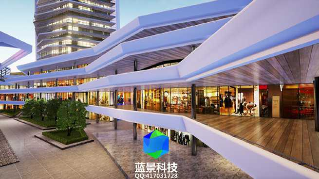 yuejing shopping mall VR