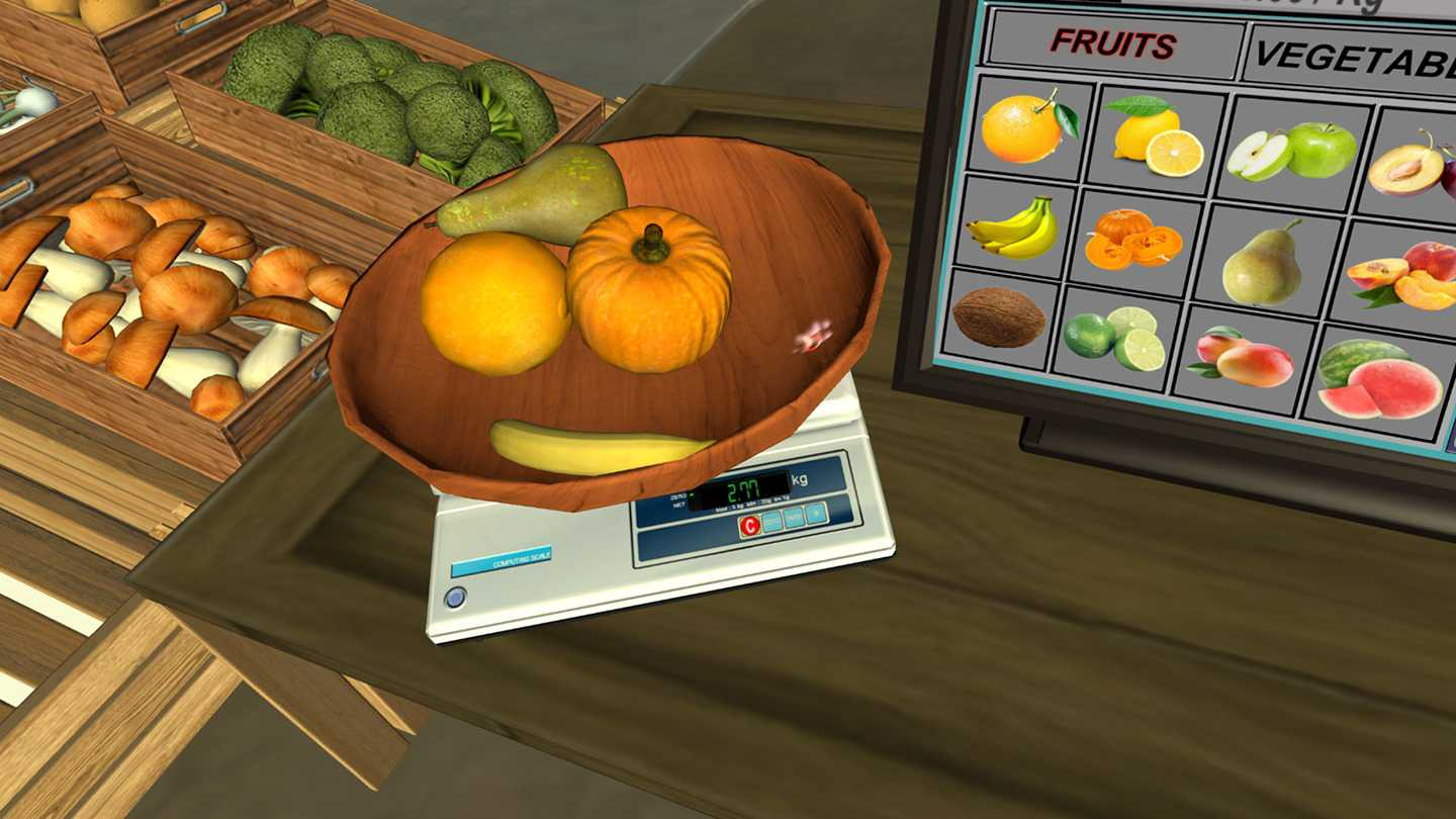 Fruit  Stand Simulator