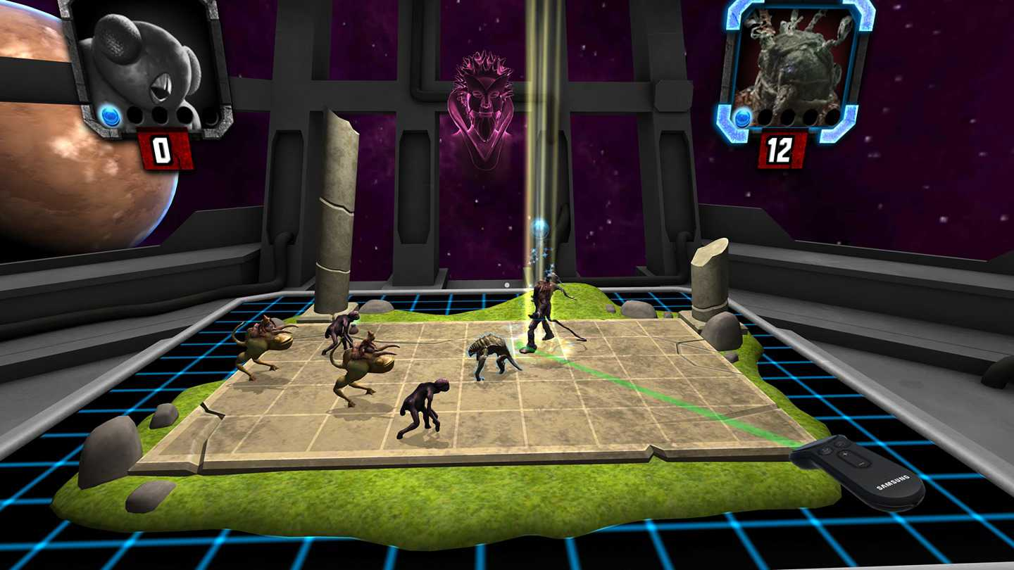 HoloGrid: Monster Battle VR