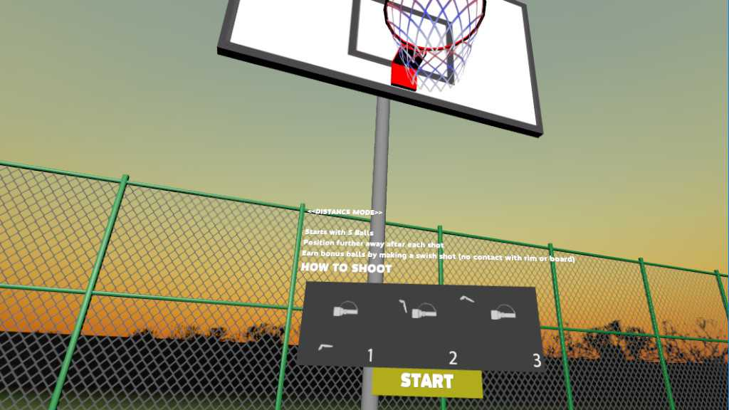 Basketball Court VR Demo