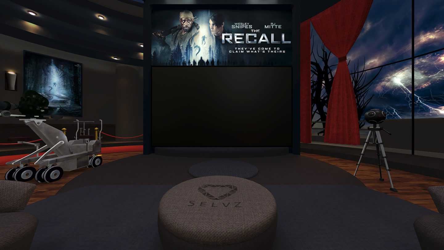 The Recall VR Abduction Movie App