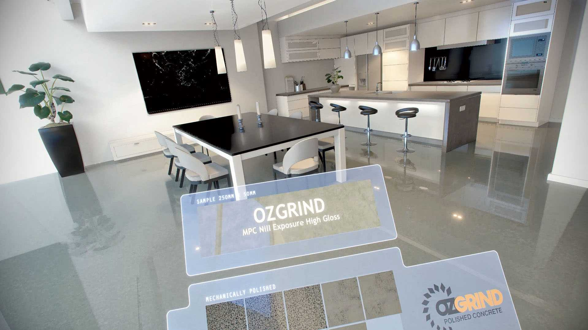 OzGrind Virtual Reality Showroom