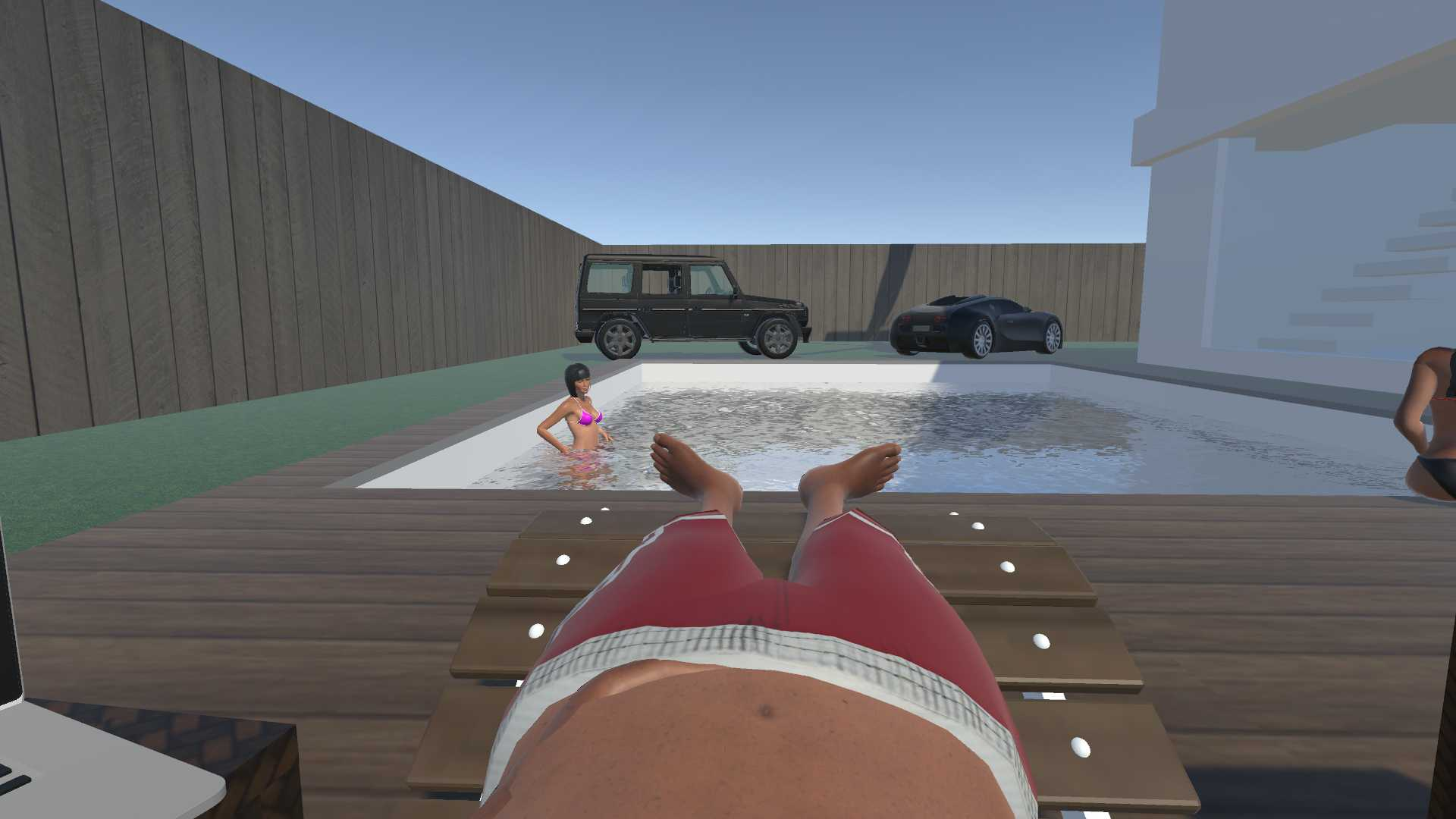 Rich life simulator VR