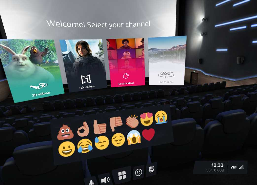 CINEVR - Social Movie Theater