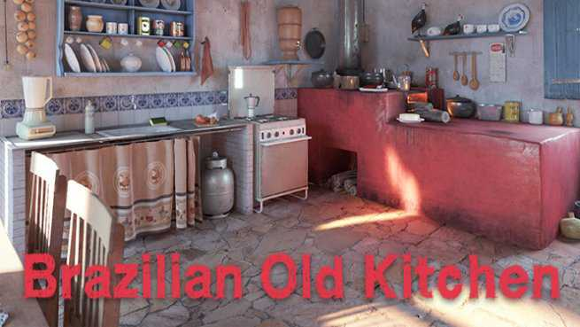 Brazilian Old Kitchen