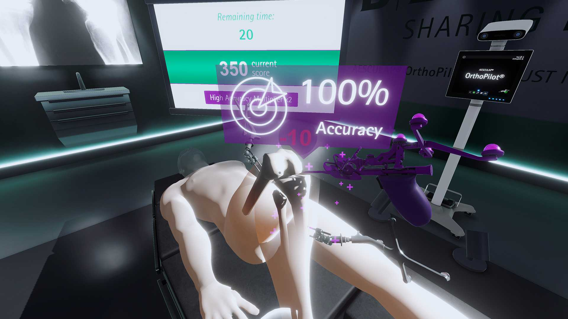 AESCULAP OrthoPilotElite VR Palpation