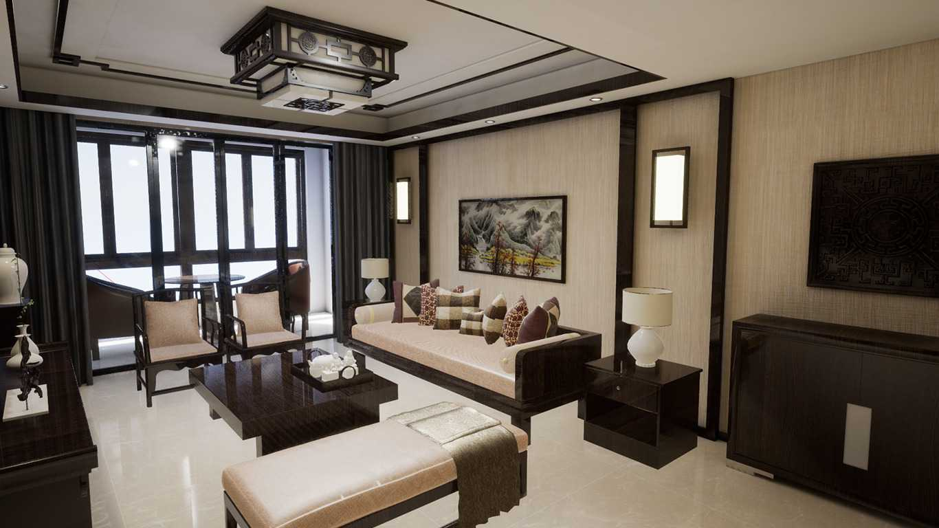 Chinese style living room