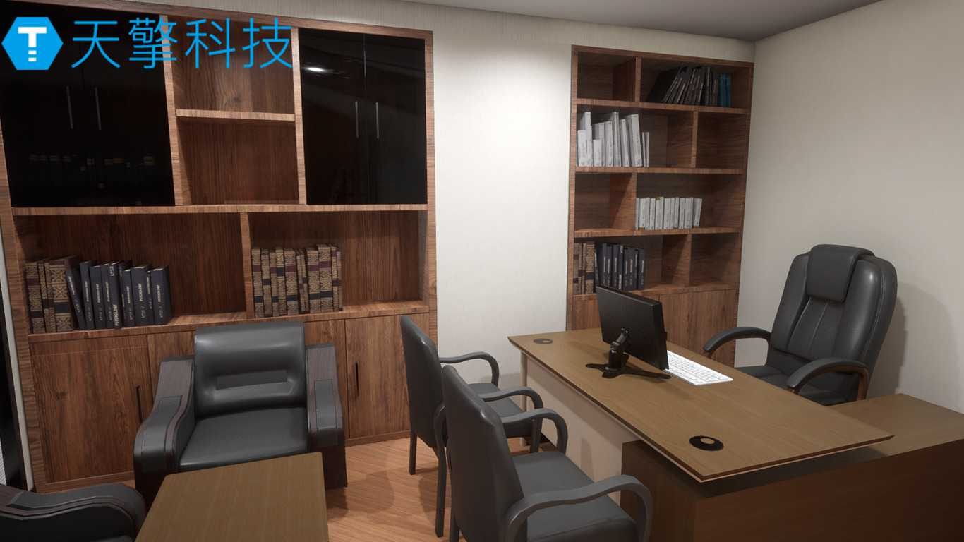 Business office showroom