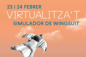 Simulador virtual de Wingsuit