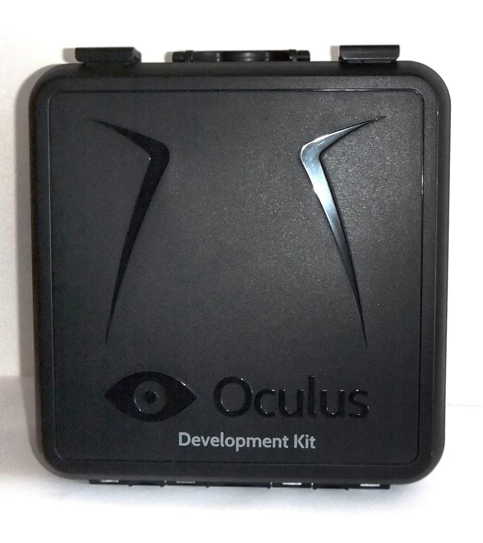 El maletín del DK1 de Oculus Rift
