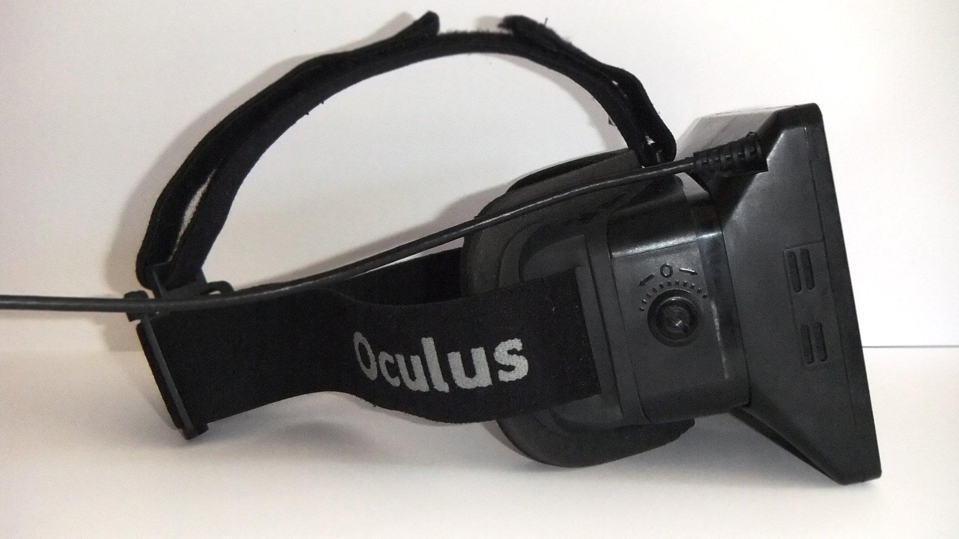 Aquí se puede apreciar el dial que nos permite desplazar la zona de las lentes
