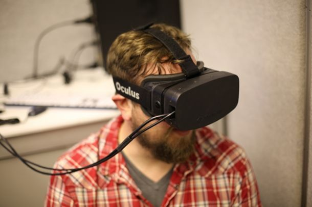 Prototipo del Oculus Rift con pantalla de 1080p