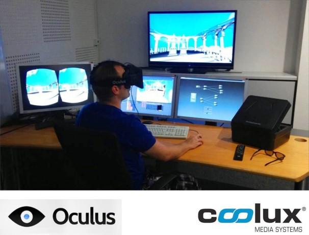 Pandoras Box con Oculus Rift