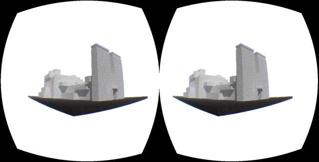 Imagen de Kairo en el Oculus Rift