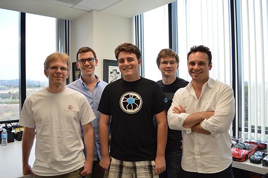 Palmer, John y Brendan en Oculus VR