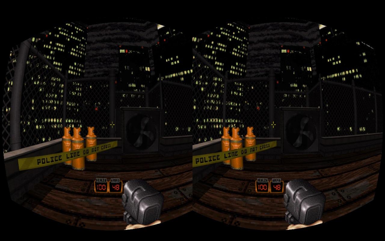 Duke Nukem 3D en Oculus Rift