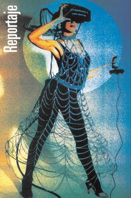 Promesas de Realidad Virtual en Julio de 1994 (revista Micromanía N º74)