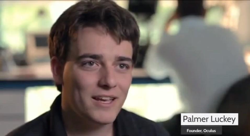 Palmer Luckey, fundador de Oculus VR